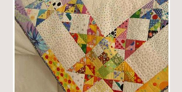 Dotty Stars Quilt Pattern