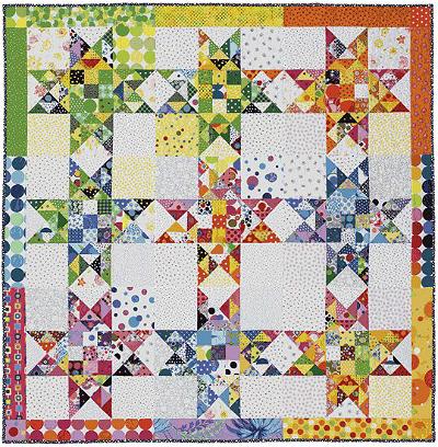 Dotty Stars Quilt Pattern