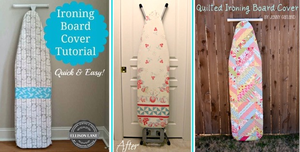 Three Free Ironing Board Cover Patterns