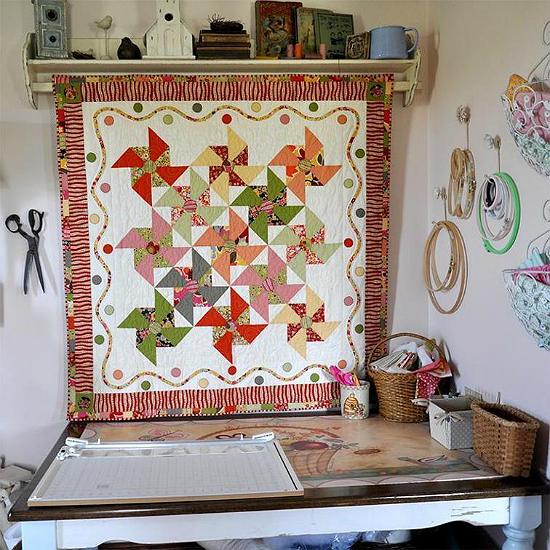 Merry-Go-Round Quilt Pattern