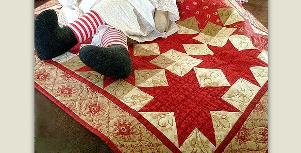 Midwinter Stars Quilt Pattern