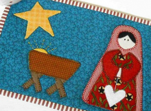 Nativity Mug Rug Pattern