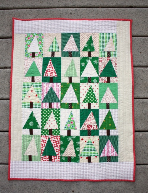 Quilting Digest Free Patterns : Sew Up a Patchwork Forest Quilt in No Time - Quilting Digest