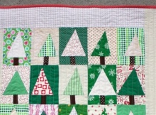 Patchwork Forest Quilt Tutorial