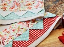 Prairie Point Tea Towels Tutorial