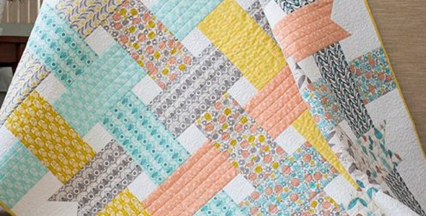 Ribbon Box Quilt Proves That Sometimes Simple is Best - Quilting ... : free flannel quilt patterns - Adamdwight.com
