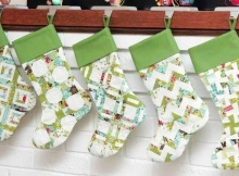 Scrappy Christmas Stockings