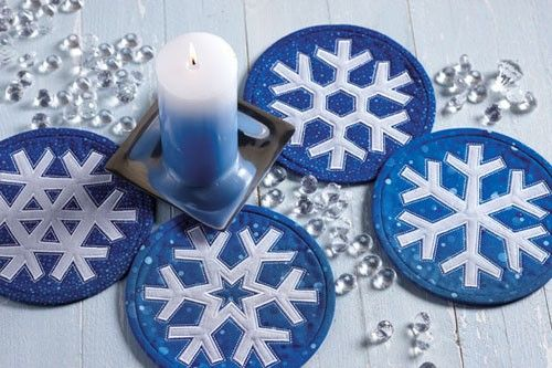 Snowflake Mini Quilts