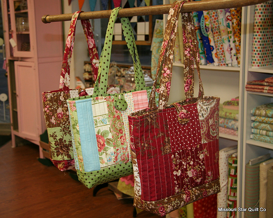 Charm Pack Tote Bags