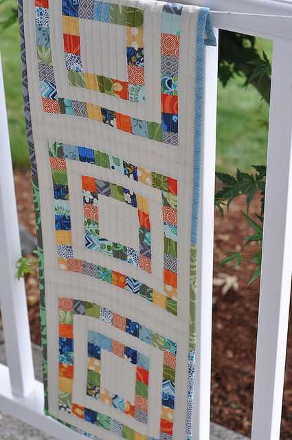 Scrapbuster Block Table Runner