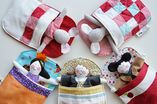 Sleeping Bag for Dolls and Plushies