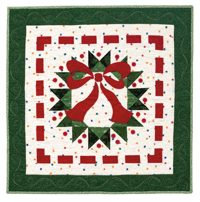 Ribbon Wreath Quilt