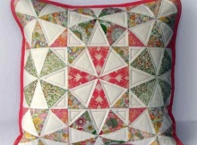 Spring Kaleidoscope Pillow Tutorial