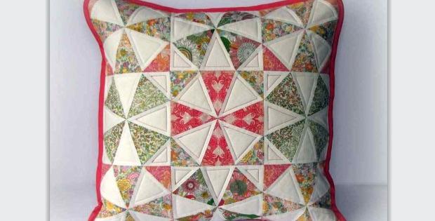 Spring Kaleidoscope Pillow Tutorial
