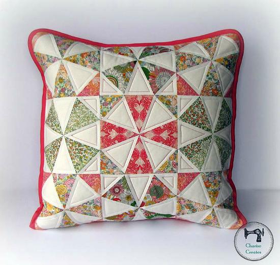 Kaleidoscope Pillow Tutorial