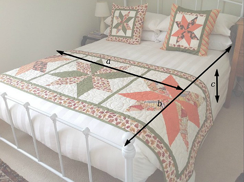 Best Way to Calculate Quilt Sizes
