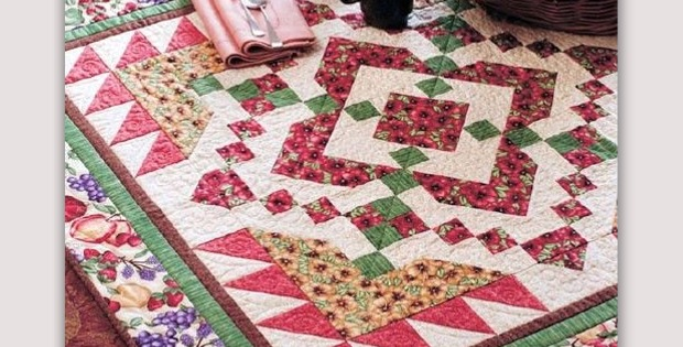 """Bountiful"" Quilt Pattern"