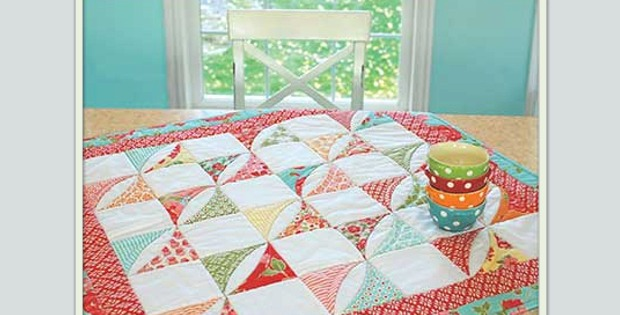 Cotton Way Candy Table Quilt