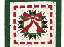 Ribbon Wreath Quilt