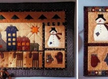 Folk Art Yuletide Wall Quilts
