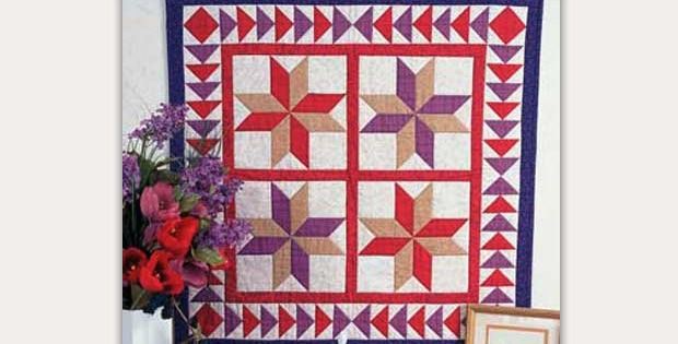 Heavenly Stars Wall Quilt and Runner