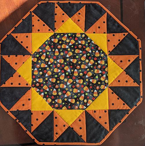 Sunburst Table Topper Pattern