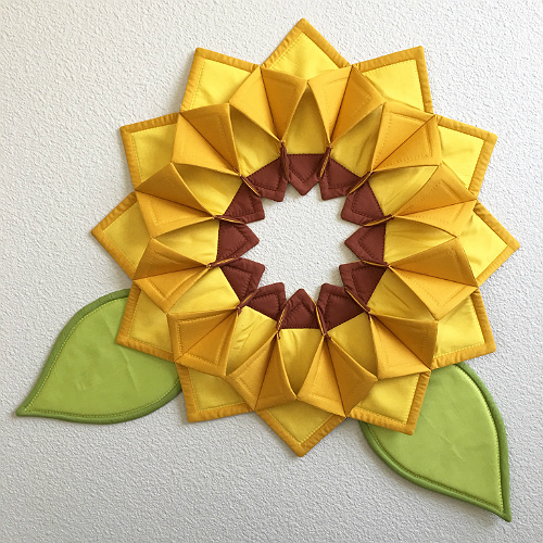 Fold 'n Stitch Wreath