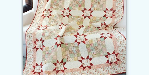 Paris Flea Market Find Quilt Pattern