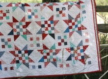 Scrap Jar Stars Quilt Tutorial