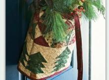 Season's Greetings Hanging Bag