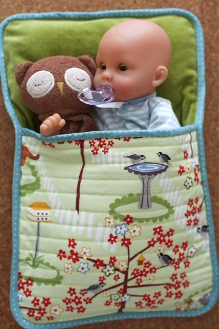 3 Sleeping Bag Patterns For Dolls And Plushies Quilting