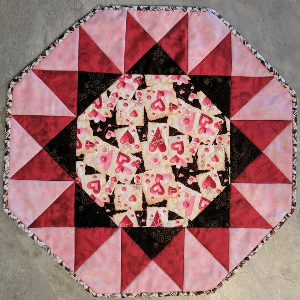 Make A Sunburst Table Topper For Every Season Quilting