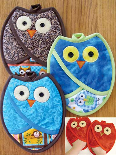 Who Owl Pot Holder Pattern