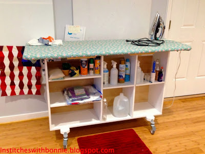 A Diy Ironing Station Is So Handy For Quilting Quilting