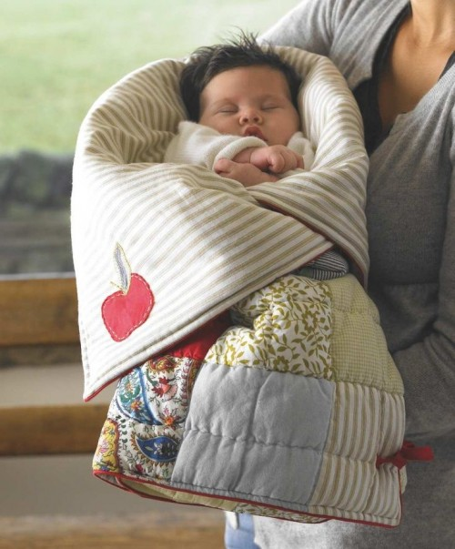 Stitch Up A Snuggly Sleeping Bag For Baby Quilting Digest