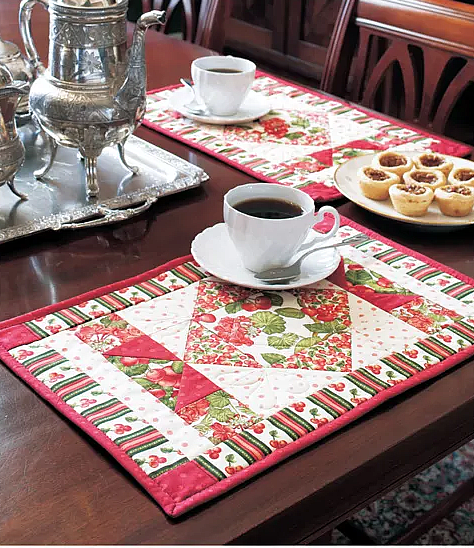 Cottage Charm Placemats Pattern