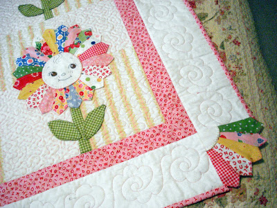 Charming Dresden Fan Corners Incomplete Pattern Quilting Digest
