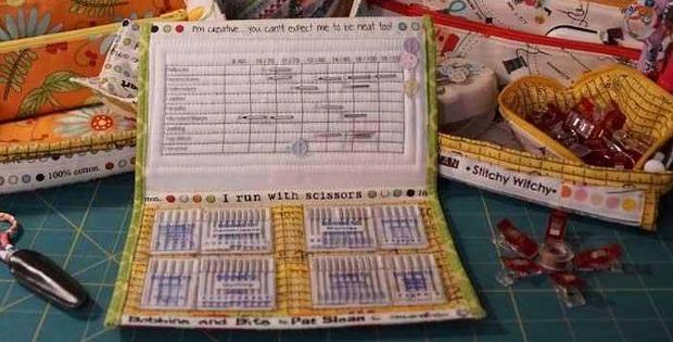 Bionic Needle Organizer Wallet Pattern