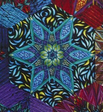 Luminosity Stars Quilt Pattern