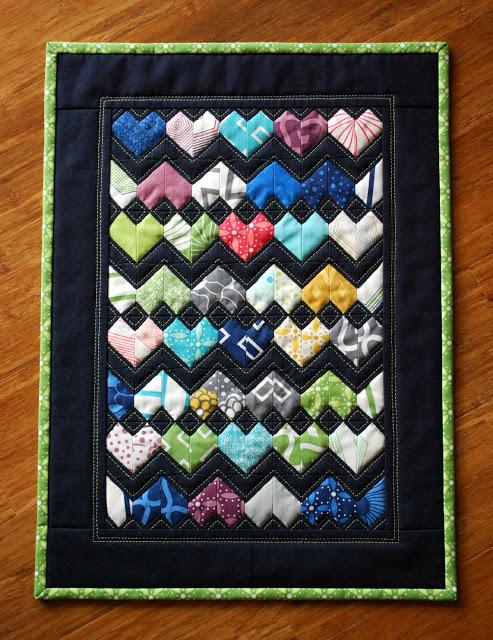 Zig Zag Love Quilt Pattern