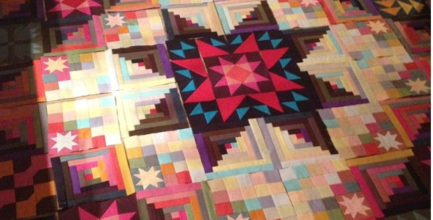 This Amish-Look Quilt Glows with Color - Quilting Digest