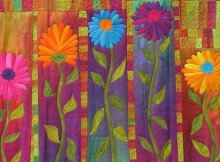 Autumn Mums Quilt Pattern