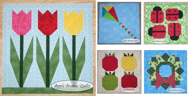 Lovely Mini Quilts For Every Month Of The Year Quilting Digest