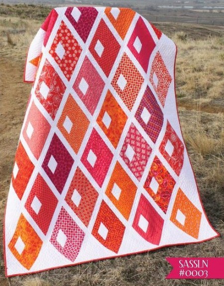 Diamond Alley Quilt Pattern