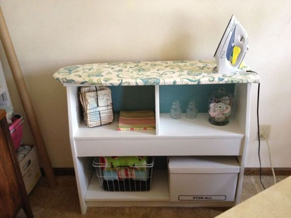 A DIY Ironing Station Is So Handy For Quilting