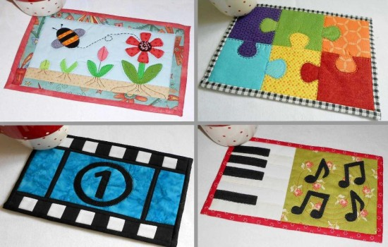 10 Hobby and Pastimes Mug Rug Patterns