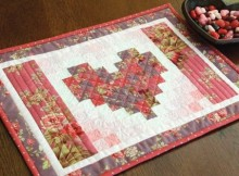 Heart Placemat Tutorial