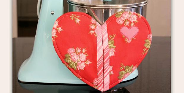 Heart Potholder Pattern