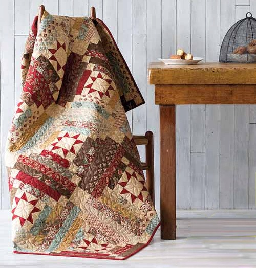 Libby's Log Cabin Quilt