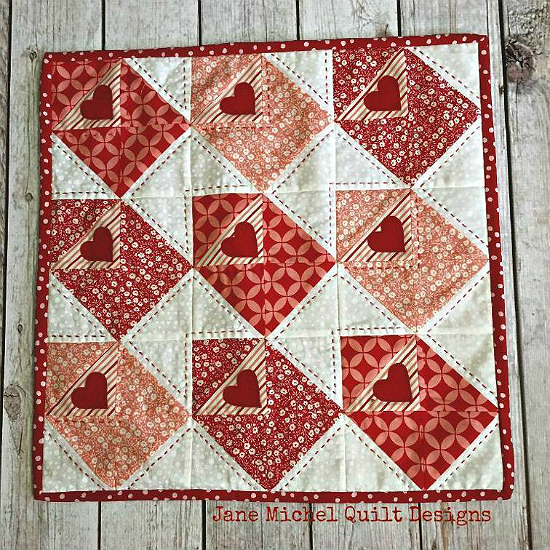Love Notes Mini Quilt Pattern